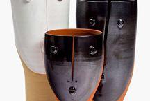 """Idoles"" French Ceramics"