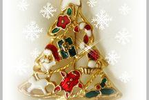Christmas Pins / My love of Christmas Pins
