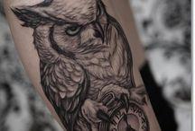 tatuaz sowa