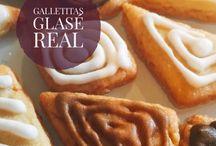 Galletas de Mantequilla con Glasé