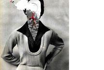 Adriana Bermúdez, collage ART / En mis ratos libres hago #Collage y sueño despierta creando mundos surrealistas