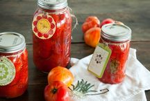 Canning and Preserving / Enjoy your harvest year-round by canning and preserving your bounty each year.  This board is all about the different ways to preserve your food for future use including canning, preserving, drying, dehydrating, etc. / by Rhonda Beckett