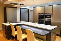 Modern, Ergonomic and Perfectly Tailored / With an opportunity to renovate their new kitchen for their long-term needs, the Glancy's brought on board the only company to truly understand their vision; Kitchen Design Centre