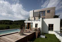 Domy / Houses / Domy, ve kterých byste chtěli žít  Architecture and house design Houses where you want to live