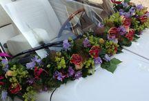 Zdobení aut svatba