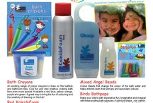 Acornkids / A unique range of bath products, books, puzzles and crafts transforms bathtime… playtime… anytime into opportunities for FUN learning. Exciting products in an extravaganza of colours, textures and fragrances create magical times, teaching young children through colour, tactile, sensory and creative play.