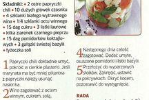 Przepisy kulinarne - przetwory pasteryzowane na zimę