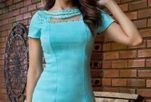 Inspirações de Vestidos Tubinho lindo.