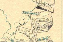 City map sketch