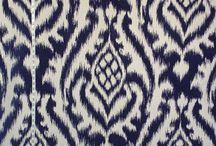 Ikats / I love textiles- especially handwoven ikats.