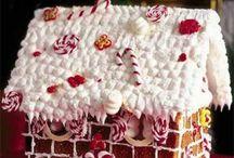 maison de pain d'épices pour Noël