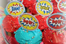 Birthday cake ideas / Superheroes!