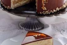 torta di mandorle arance e cioccolati