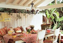 Outdoor Space / by Christin Meadows