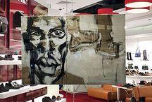 APIA & XY ankamierzejewska / W naszym wrocławskim sklepie w Magnolia Park oraz w gdyńskim Klifie, dzięki pomocy Katarzyny Jędruszczak, można podziwiać prace malarki XY ankamierzejewska.