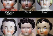 Antique china dolls