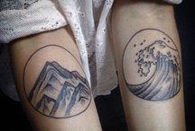 Tatuaggi Puntinismo
