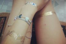 Temporary tattos / must have summer accesories ❤