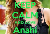 <3 Keep calm: Anahí Giovanna <3 / Este tablero lo he creado para tener todos los Keep clams de Anahí :)