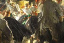 Schilderijen dans