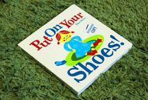 Put on Your Shoes! / In his signature retro-modern illustration style (sure to appeal to lovers of the Charley Harper boardbooks) Dan Stiles delivers a colorful, fun-to-read play-by-play of the put-on-your-shoes battle that will resonate with parents of toddlers everywhere.