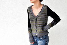 Sweaters: Sock Yarn/Fingering