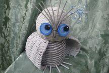совушки плетение
