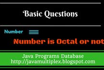 Number Problems / The solution of number related problems in Java.