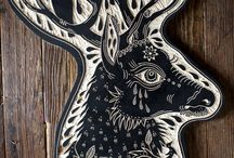 Lino Cutting / A new craft I would love to learn ...