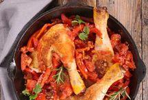 Poulet / Plein de recettes de poulet pour vous régaler.