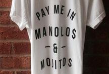 T-shirts / by Janaina Netz