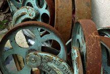 Damaged, Abandoned, Used