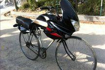 sjove cykel foto