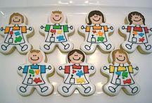 Sugar cookies/ people