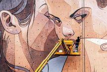Arte   Esculturas, instalaciones y streetart / by Camila Jáuregui Rangel