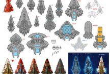 starship sprites