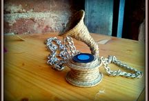 handmade cord accessories / cord neckless