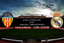 Prediksi Pertandingan Bola Valencia vs Real Madrid 18 Desember 2016