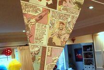 Event Party Theme - Superheros