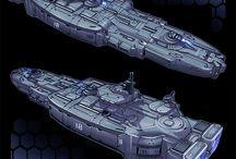 Spaceships 3d