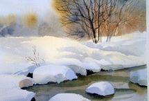 Rajz téli képek