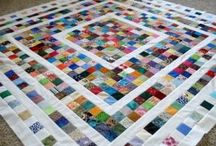 Quilting ideas  / (acheivable looking or intriguing patterns- to be completed one at  a time!)