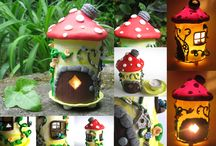 Fairy houses / Fairy houses from magic forests