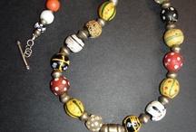 African trade bead jewelry