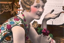 VINTAGE LADIES / FOLLOW THE BOARD AND FREELY PIN WITHOUT LIMITS.  / by Kathy Plunk