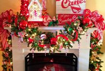 candy cane theme / by Michelle Beaver