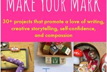 Encouraging Kids to Write / A collection of activities that encourage kids to write
