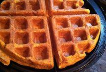 Sweetpotato Waffle Awesomeness