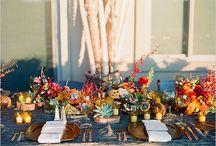 Fall wedding ideas / Идеи для осенней свадьбы