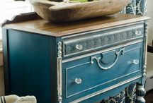 furniture makeovers / by Mary Anne Pickard